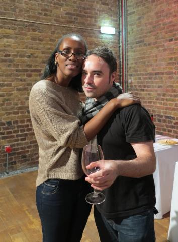 Jazz singer Carol Mae Whittick and partner Christian