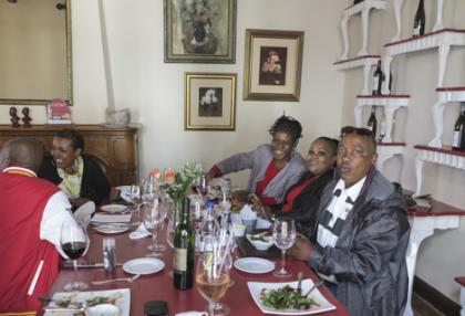 Soweto wine shop managers visiting the Cape